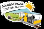 Solardraisine Überwaldbahn Sticky Logo