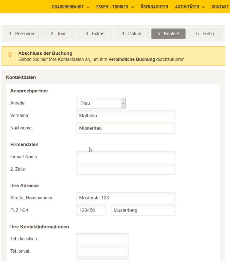 Paydirekt: Draisinenfahrt im Odenwald buchen