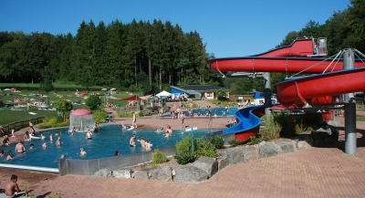 Schwimmbad wald michelbach